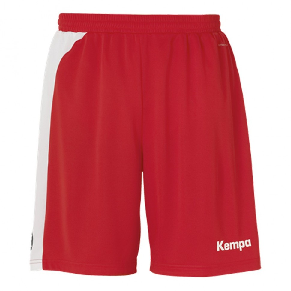 Kempa Peak Short for Kids rot/white