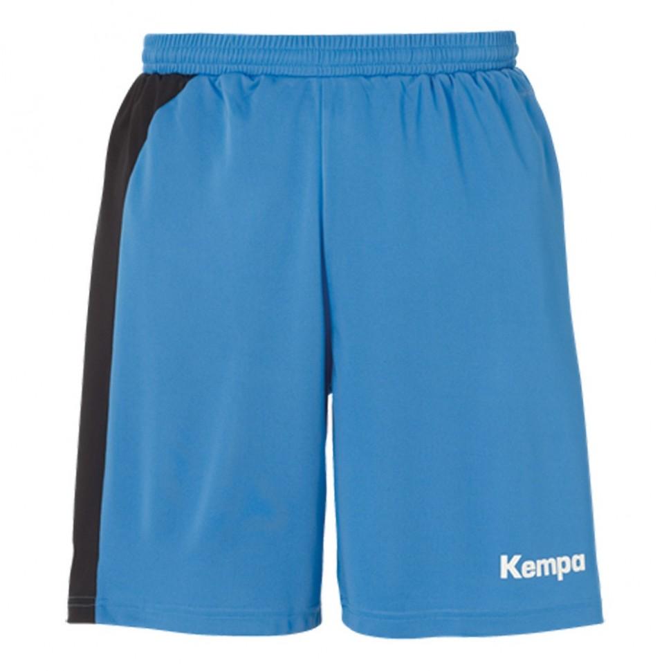 Kempa Peak Short für Kinder kempablau/schwarz