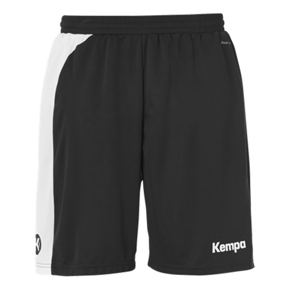 Kempa Peak Short für Kinder schwarz/weiß