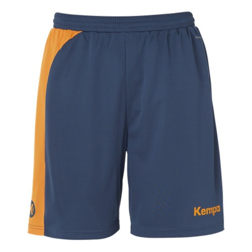 Kempa Peak Short für Kinder prtol/orange