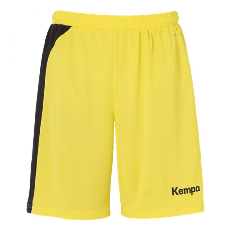 Kempa Peak Short limonengelb/schwarz