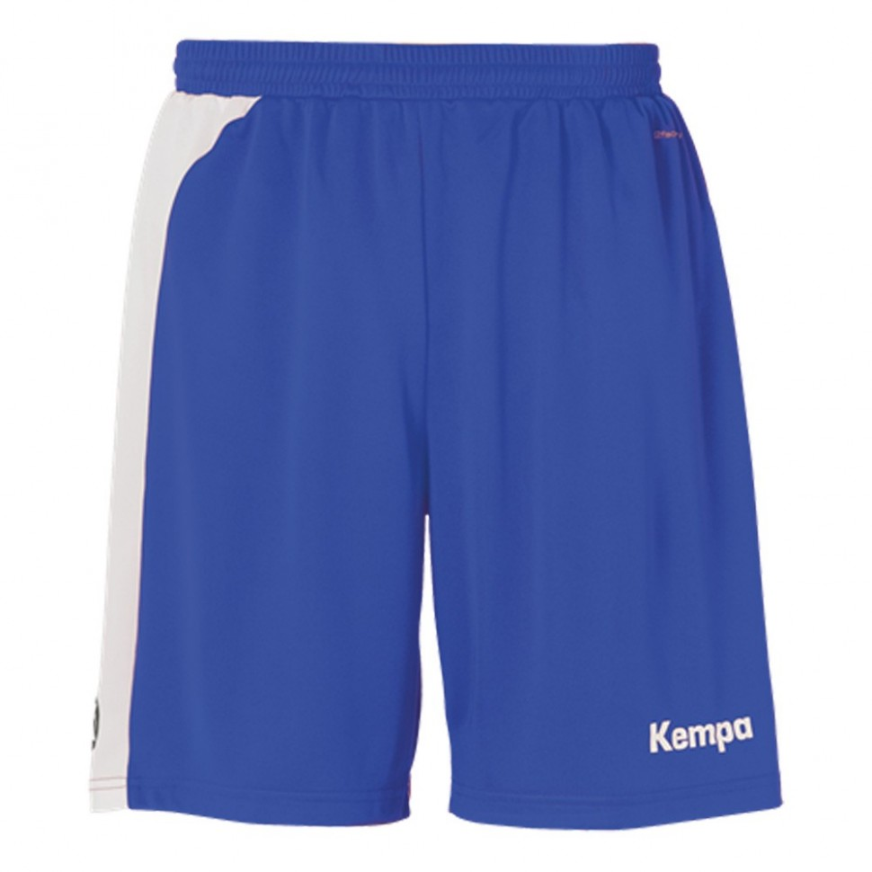 Kempa Peak Short royal/weiß