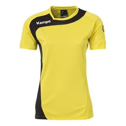 Kempa Peak Trikot Women limonengelb/schwarz
