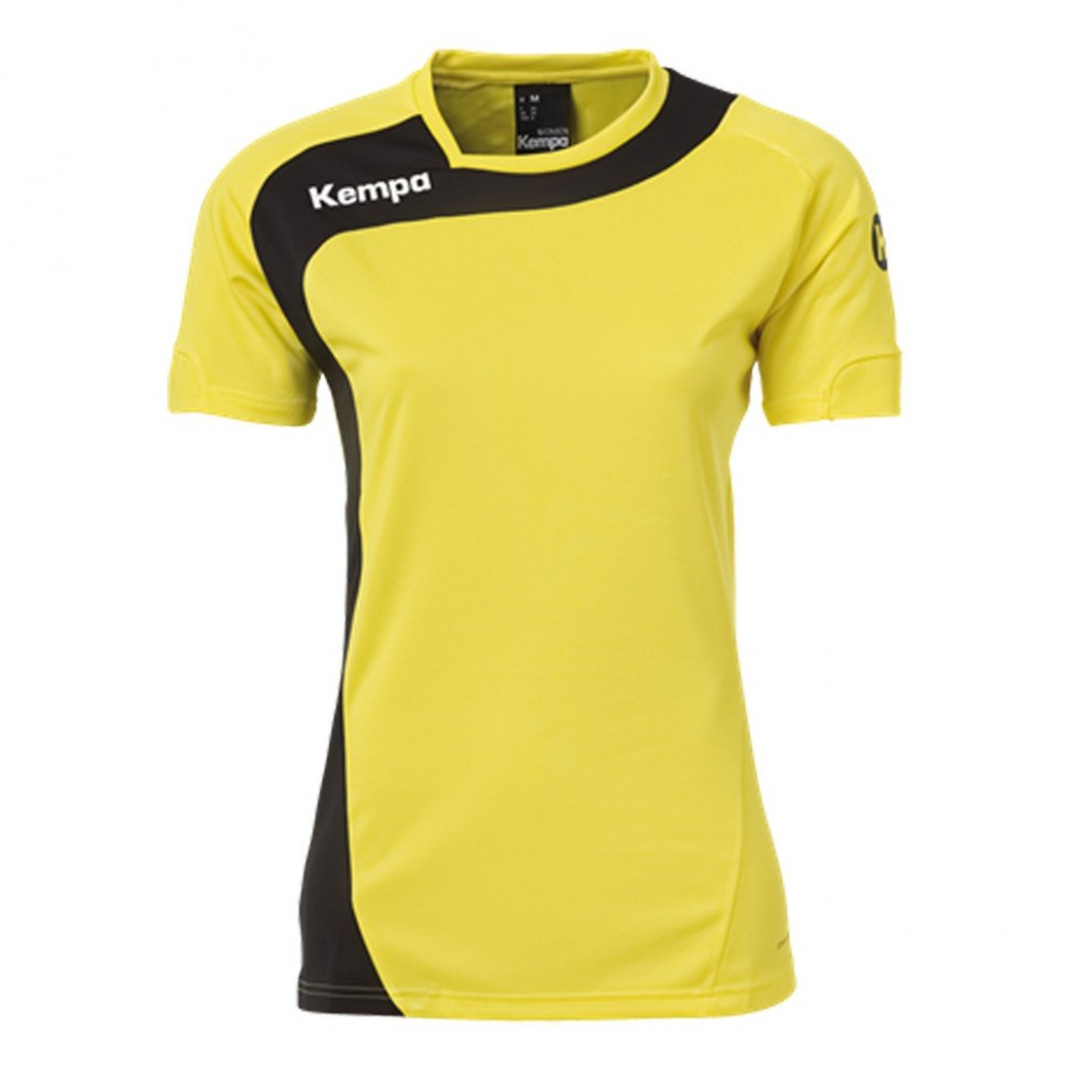 Kempa Peak Jersey Women limonenyellow/black
