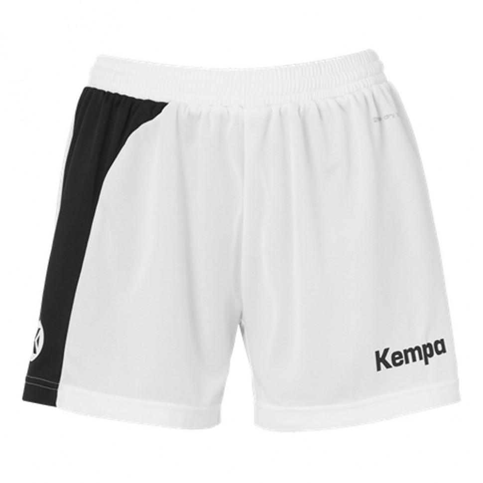Kempa Peak Short Women weiß/schwarz