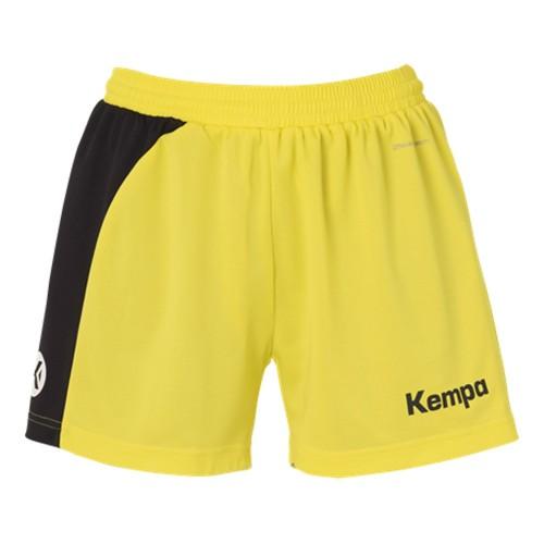 Kempa Peak Short Women limonengelb/schwarz