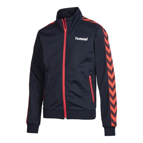 Hummel Marcel Zio Jacket SS16 für Kinder blauschwarz/salmon rose