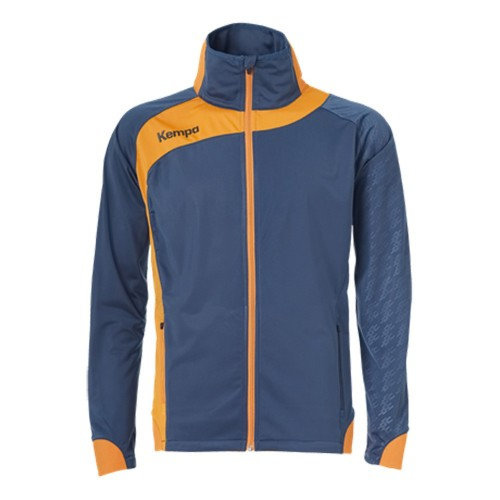 Kempa Peak Multi Jacket for Kids petrol/orange