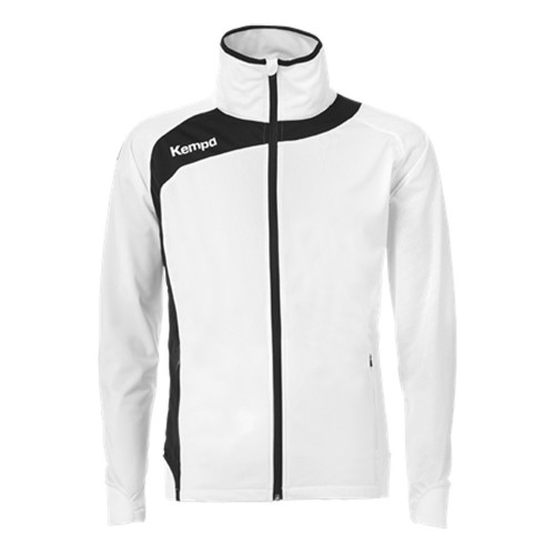 Kempa Peak Multi Jacket for Kids white/black