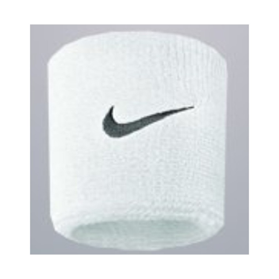 Nike Sweatbands NOS Swoosh Wristband white