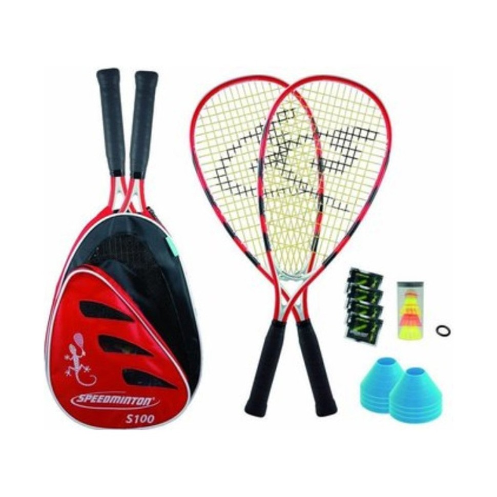 Sport 2000 S100 PLUS Speedminton Set red