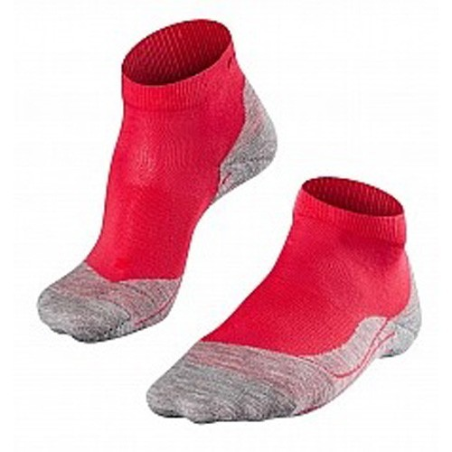 Falke RU 4 Running Socks kurz Woman rot/grau