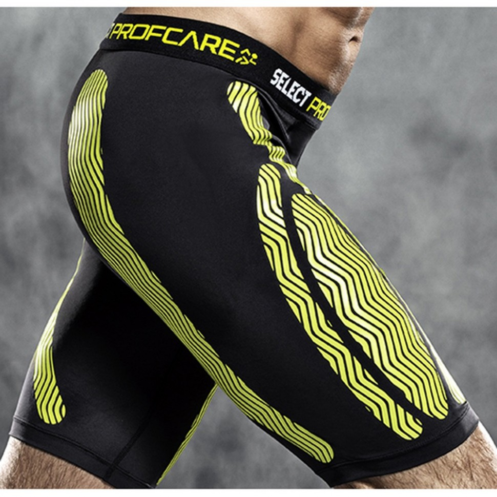 Select Compression-Hose black/yellow