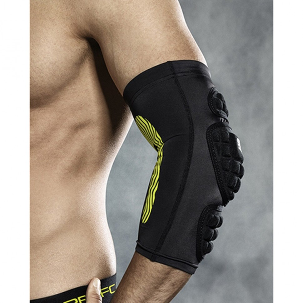 Select Compression-Ellbogenbandage black/yellow