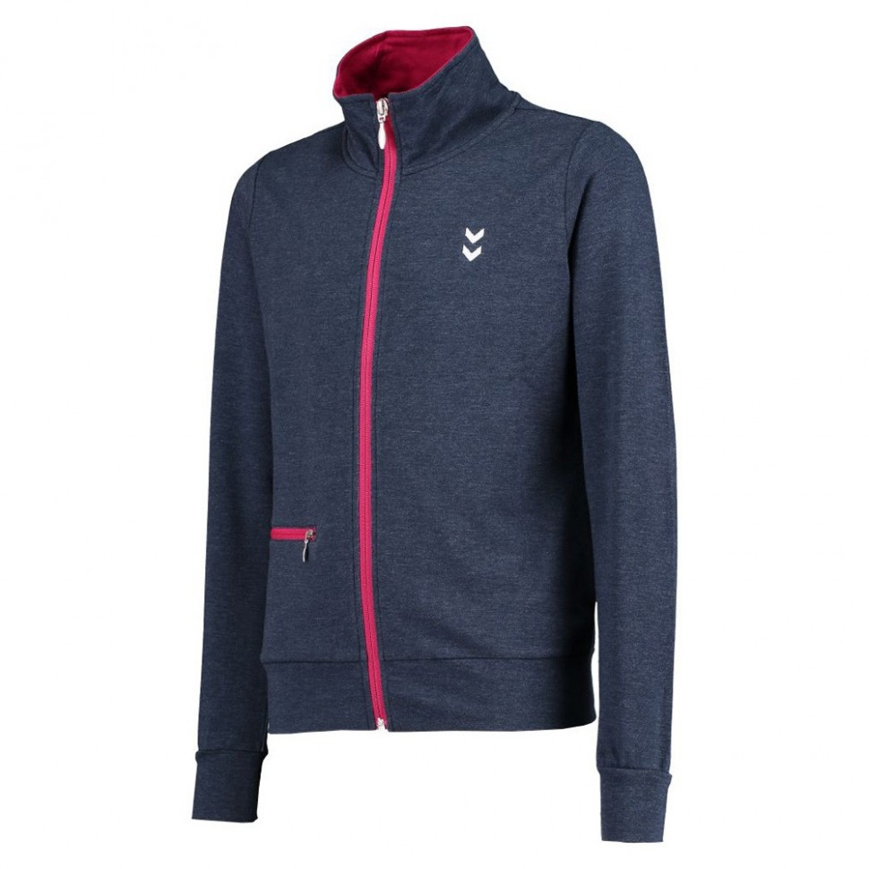 Hummel Zanny Zip Jacket SS16 for Kids blueblack/pink