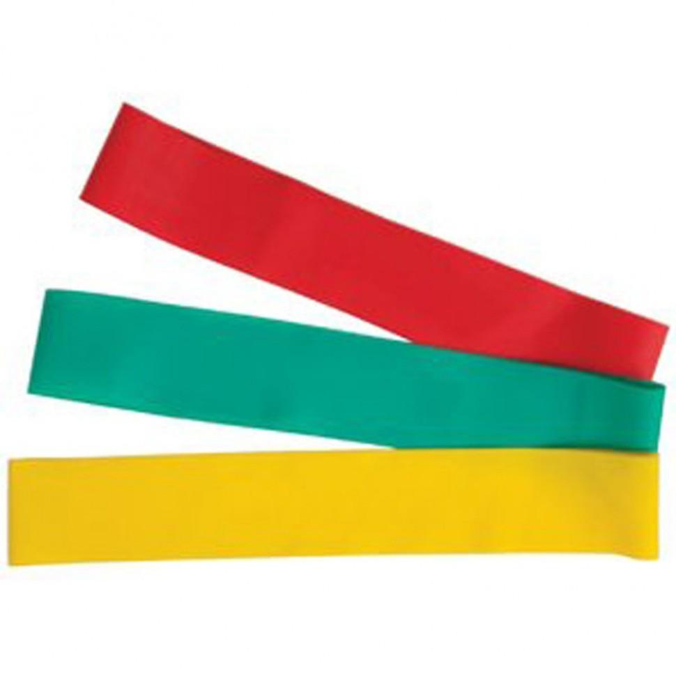 V3Tec Fitnessbänder 3er Set gelb/grün/rot