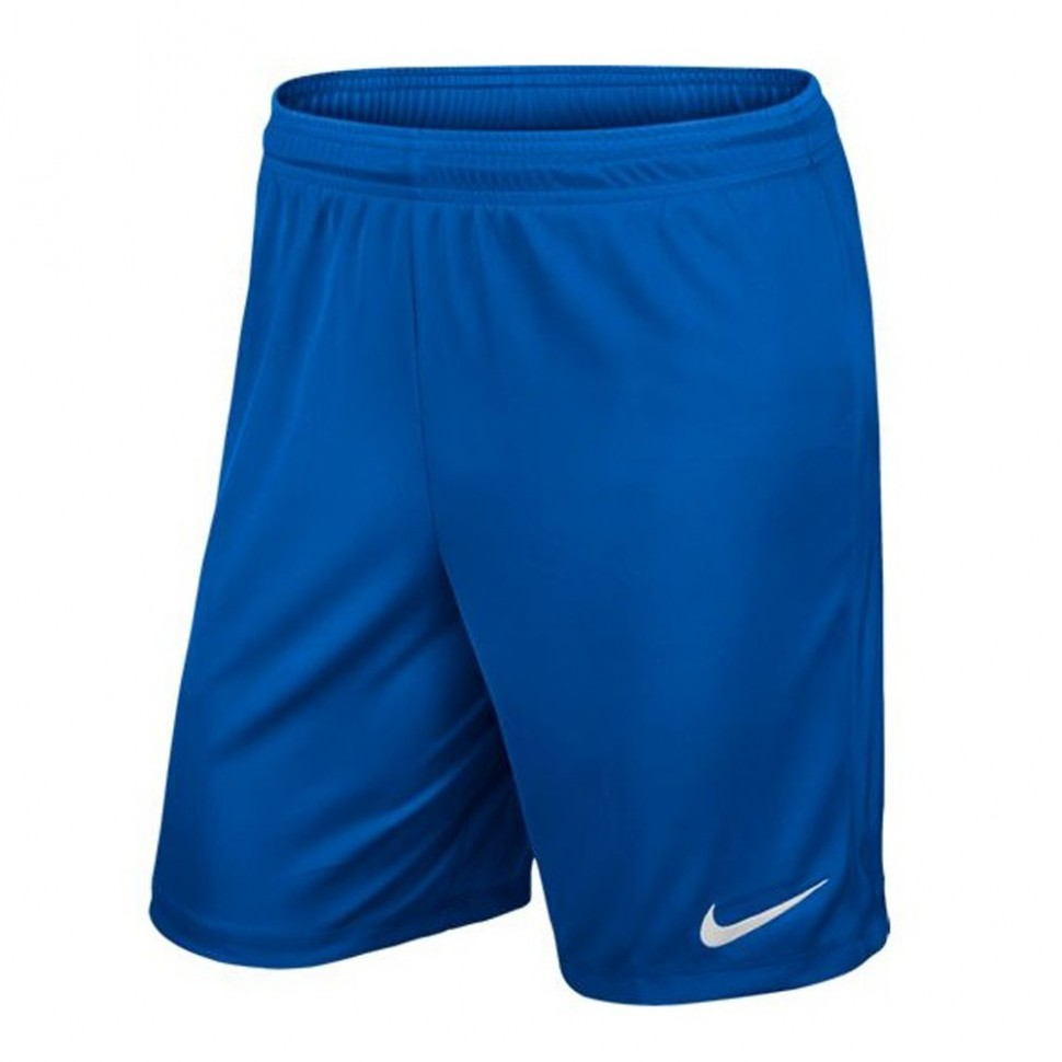 Nike Park II Knit Short ohne Innenhose royal