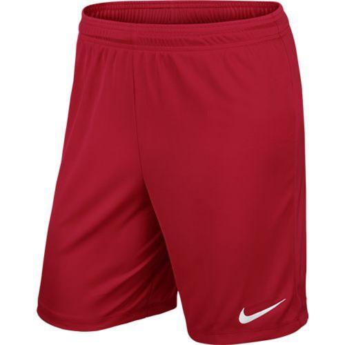 Nike Park II Knit Short ohne Innenhose rot