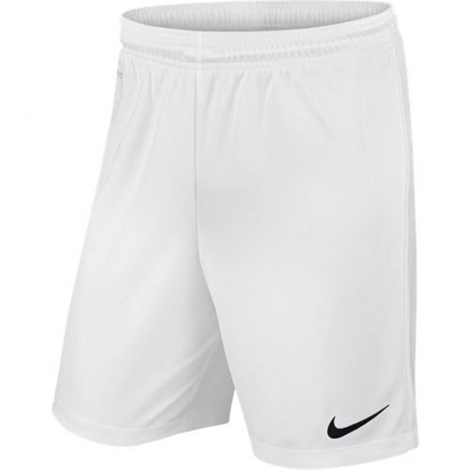 Nike Park II Knit Short ohne Innenhose weiß