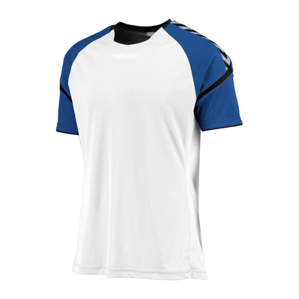 Hummel Authentic Charge 2020 Jersey ss for Kids white/blue