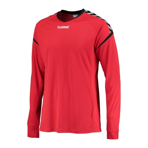 Hummel Authentic Charge Trikot ls Kinder rot