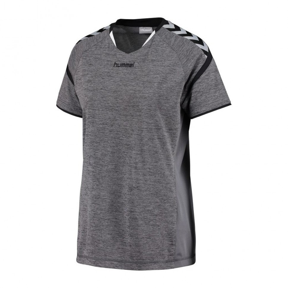 Hummel Woman-Jersey Authentic Charge 2020 ss grau