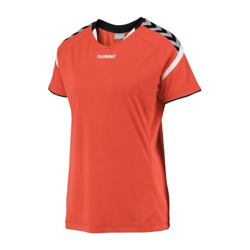 Hummel Damen-Trikot Authentic Charge 2020 ss dunkelorange
