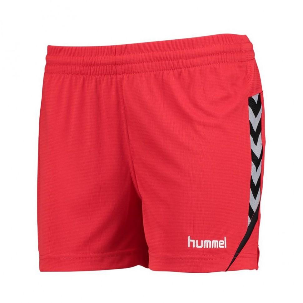 Hummel Damen-Short Authentic Charge 2020 rot