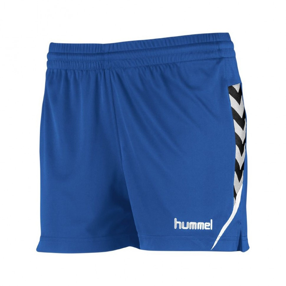 Hummel Damen-Short Authentic Charge 2020 blau
