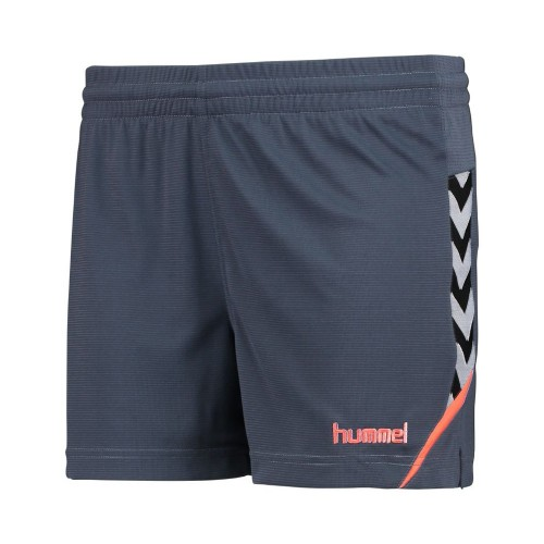 Hummel Damen-Short Authentic Charge 2020 blaugrau