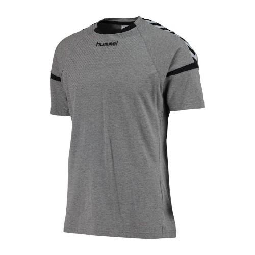 Hummel Authentic Charge Trainings-T-Shirt Kinder grau