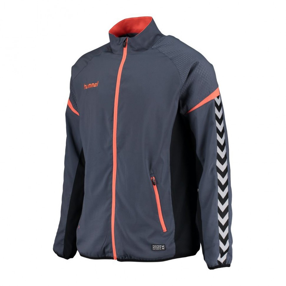 Hummel Zip-Training Jacket Authentic Charge Micro bluegrau