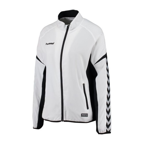 Hummel Woman-Zip-Training Jacket Authentic Charge Micro white