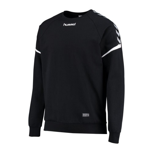 Hummel Authentic Charge Baumwoll Sweatshirt schwarz