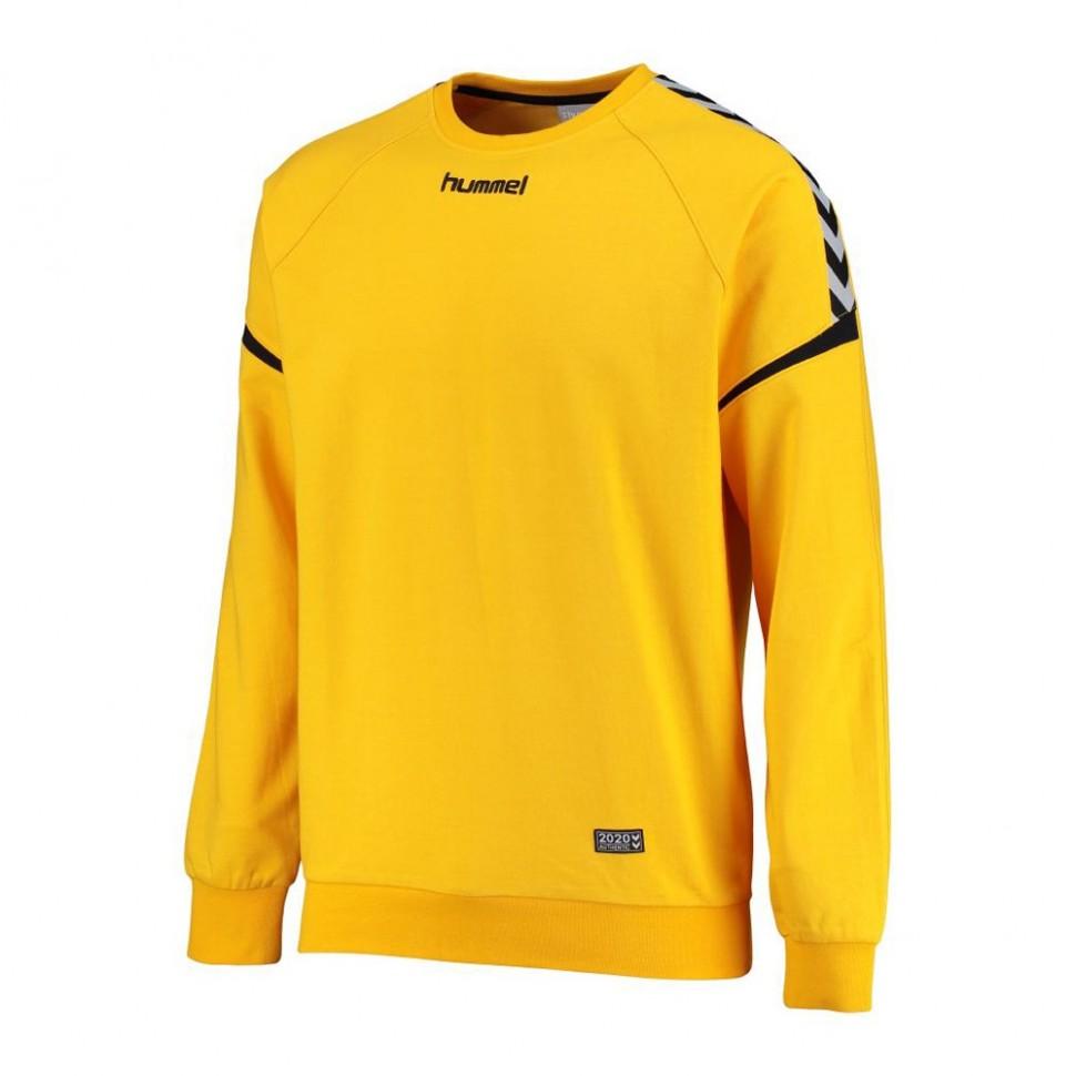 Hummel Authentic Charge Baumwoll Sweatshirt gelb