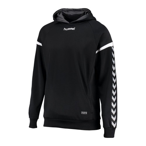 Hummel Hooded Sweatshirt Authentic Charge Poly black