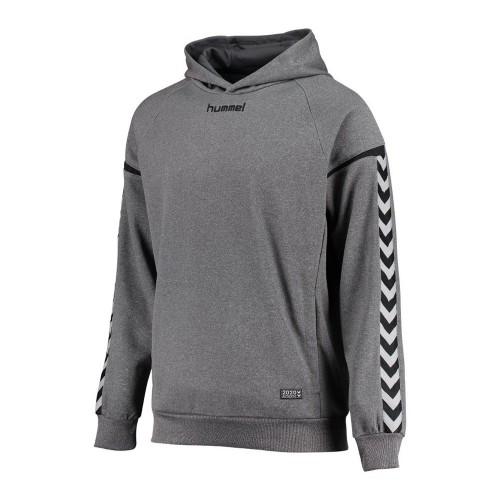 Hummel Kinder-Kaputzensweatshirt Authentic Charge Poly grau