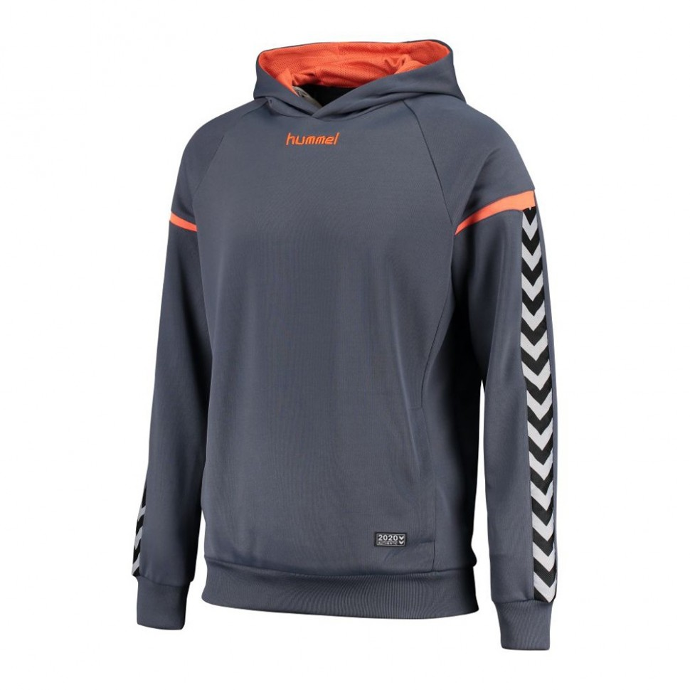 Hummel Kinder-Kaputzensweatshirt Authentic Charge Poly blaugrau