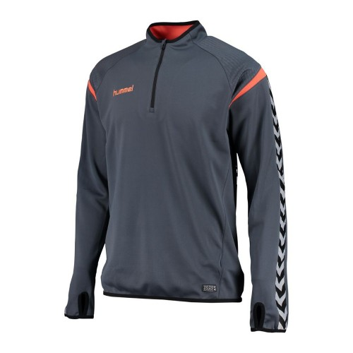 Hummel Trainingssweatshirt Authentic Charge blaugrau