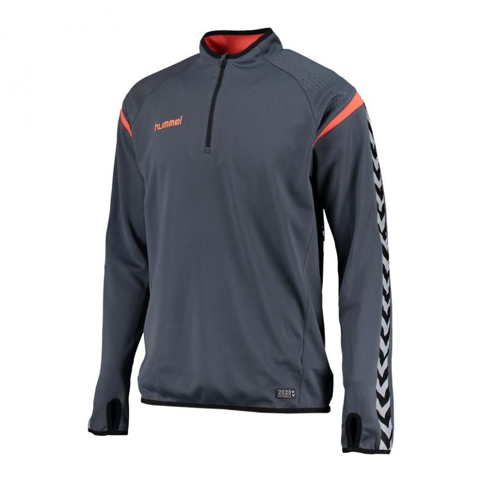 Hummel Trainingssweatshirt Authentic Charge blaugrau