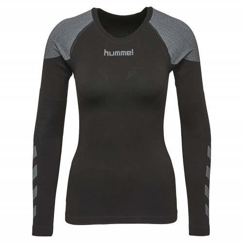Hummel First Comfort ls. Jersey Woman black/grau
