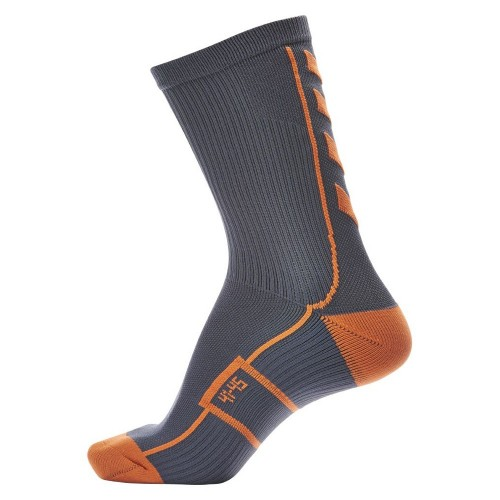 Hummel Tech Indoor Sock low grau/orange