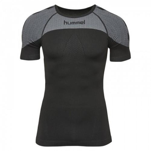 Hummel First Comfort ss Jersey black/grau