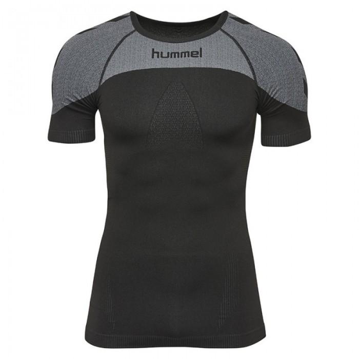 Hummel First Comfort ss Jersey schwarz/grau