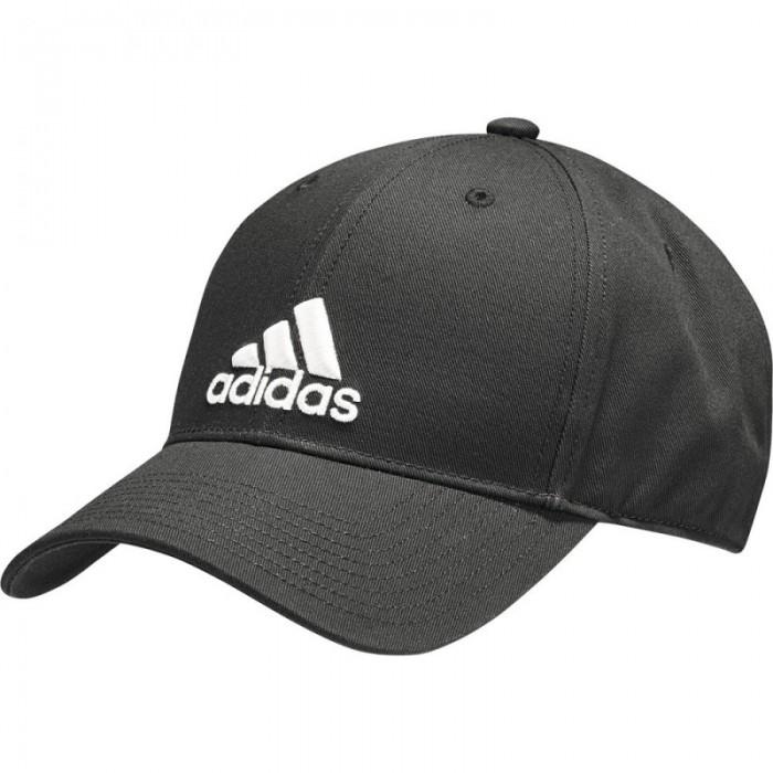Adidas Classic Cap Baumwolle schwarz
