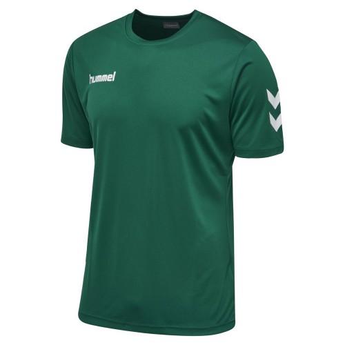 Hummel Core Polyester T-Shirt Kinder grün