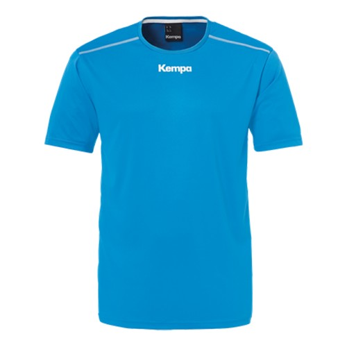 Kempa Poly Shirt Kinder royal