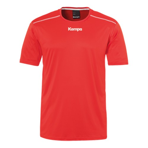 Kempa Poly Shirt Kinder rot