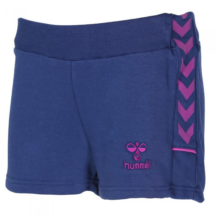 Hummel Rebecca Short Damen hellgrau/pink