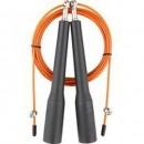 V3Tec NOS Kabelspringseil mit Kugellager schwarz/orange